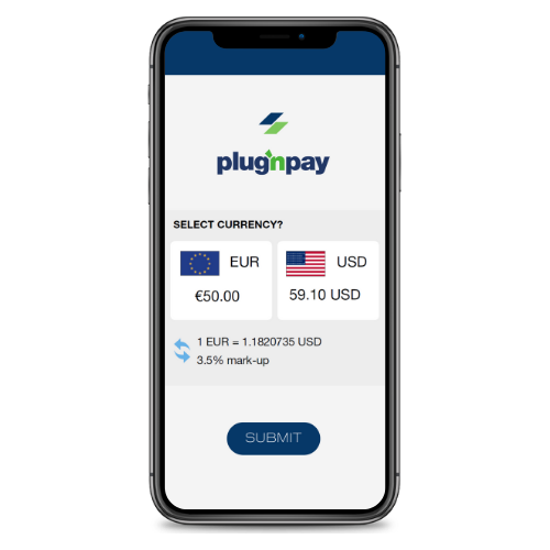 Plug'n Pay | Dynamic Currency Conversion (DCC)